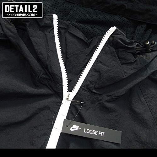 [ナイキ]メンズフーデッドウーブンアノラックジャケットブラック/ブラック/(ホワイト)AR2213010S