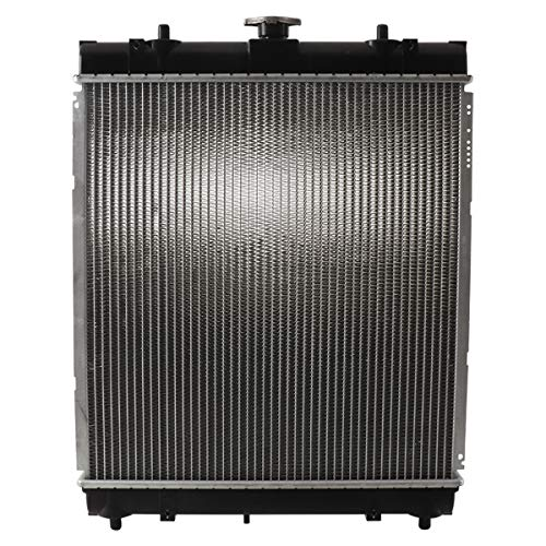 Complete Tractor New 1906-6321 Radiator Replacement For Kubota MX4700DT, MX4700F, MX4700H, MX5100DT, MX5100F, MX5100H TC250-99600, TC250-99602