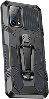 Grandcaser Case for Oppo Reno5 5G Ultra-thin PC+TPU Luxury Shockproof Back Cover Armor Bumper Bracket Anti Fall Protective...