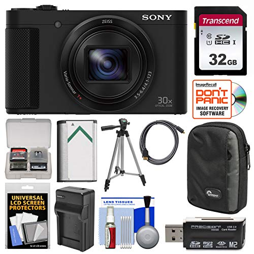 Sony Cyber-Shot DSC-HX80 Wi-Fi Digital Camera with...