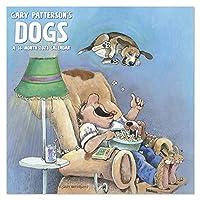 2021 Gary Patternson's Dogs 壁掛けカレンダー 12インチ x 12インチ マンスリー (DDW3092821)