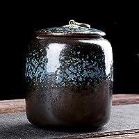 葬儀の壷、火葬の灰の棺の壷、陶磁器の追悼の壷、大人のための記念の壷、ペット11x11x14cm、赤