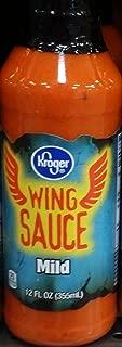 Kroger Wing Sauce Mild 12 Oz (Pack of 2)