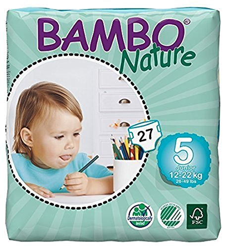 Bambo Nature Eco Friendly Baby Diapers Classic for...