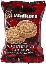Walkers Shortbread Rounds Shortbread Cookies Snack Packs, 22 Count