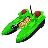 CARACHOME Barco cebador Pesca, Accesorios de Barco de Pesca RC con 3 contenedores de Cebo Distancia de Control Remoto de 500 M, Carga de 2 KG, para Regalos de Pesca para Hombres