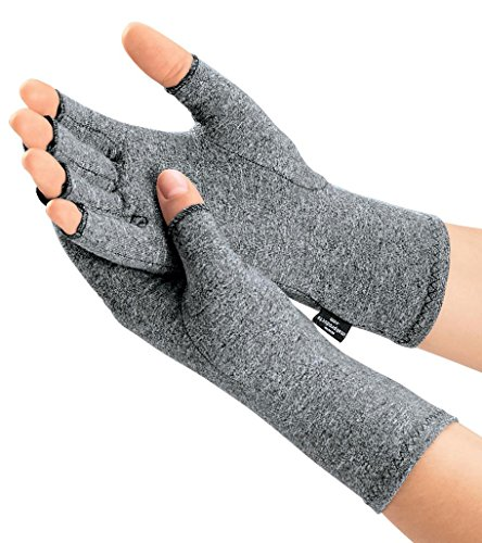 IMAK® Compression Arthritis Gloves, Medium – Premium Arthritic Joint Relief for Rheumatoid & Osteoarthritis – All-Day Comfort – The Only Glove Commended for Ease of Use by The Arthritis Foundation