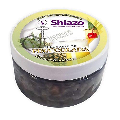 Shiazo 100gr, Dampfsteine Steam Stones für Shisha und Shisha mit 40Aromen und Düfte wählbar Pina Colada