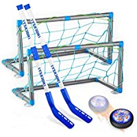 Retail Sign Systems Rechargeable Hockey Hover Set with LED Light