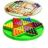 zyhoue Bullet Checkers Flying Chess Two in Oneness Aklicho Children Adult Marbles Checkers Large Puzzle Classic Parent-Child -
