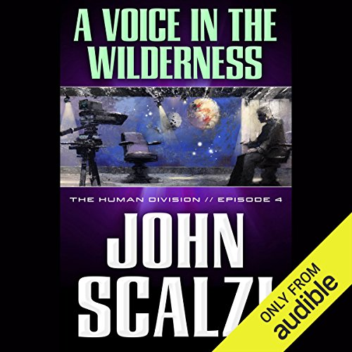 A Voice in the Wilderness audiobook cover art