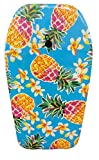 Nantucket Surf 33' body board - Body Boards with EPS Core & Wrist Leash, body boards for beach, beach accessories for adults & kids outdoor toys (Pineapple Bali)