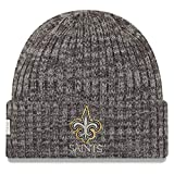 New Era New Orleans Saints Beanie NFL 2019 On Field Crucial Catch Knit -