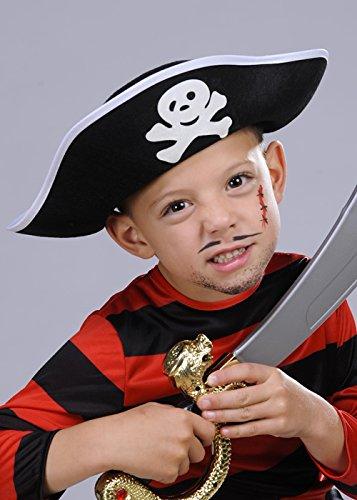Struts Fancy Dress Chapeau de Pirate Capitaine Déguisements Enfants