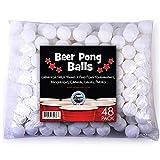 Pack de 48 bolas de «beer pong» de 38mm de Sportly, ideales para torneos de ping pong, juegos de ferias, fiestas...