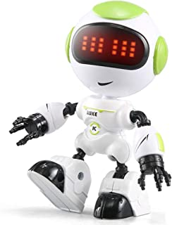 JJRC R8 Smart Mini Robot For kids Toy With Touch Control DIY Gesture Voice LED Eyes Programmable Alloy RUKE Gift By PRIME ...
