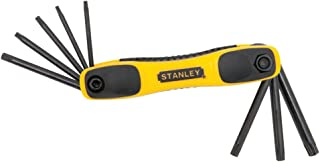 STANLEY STHT71802 Folding Star Hex Key Set, 8-Piece