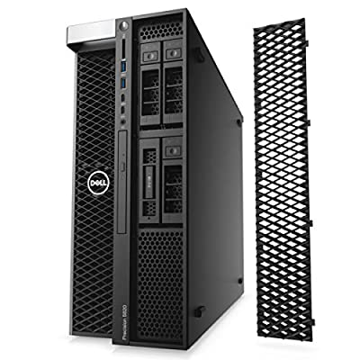 Dell Precision 5820 Tower Workstation, Intel Xeon W-2133 up to 3.9GHz (6-Cores), 64GB RAM, 512GB M.2 NVMe PCIe SSD + 2TB HDD, M4000 8GB, 4x Display Ports (supports 4K), Windows 10 Pro 64-bit (Renewed)
