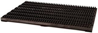 Iris Hantverk Wooden Outdoor Doormat with Nylon Bristles, 60x40cm, Black by Iris Hantverk