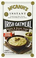 McCANN'S Instant Irish Oatmeal Maple & Brown Sugar 10-Count Boxes (Pack of 6) [並行輸入品]