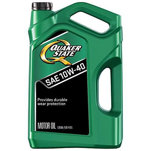 Quaker State Motor Oil, Conventional 10W-40 (5-Quart, Single Pack)