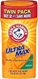 Arm & Hammer Ultra Max Fresh Solid Antiperspirant Deodorant, 2.6 Oz, Twin Pack by Arm & Hammer