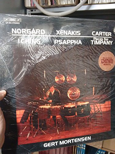 BIS LP XENAKIS, Iannis: Psappha - CARTER, Elliot: Pieces for Timpany - NORGARD, Per: I Ching ----Vinyl LP-BIS