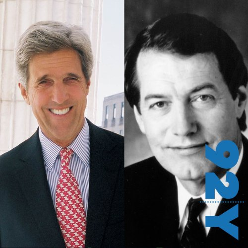 John Kerry with Charlie Rose cover art