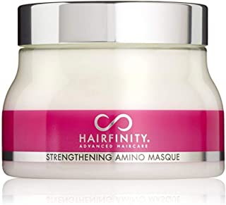 Hairfinity Hair Strengthening Amino Treatment Masque - Hydrating Hair Mask and Deep Conditioner Cream for Dry Damaged Hair...