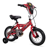 Huffy 12' Disney/Pixar Cars Boys Bike with Lights and Sounds Shield, Red