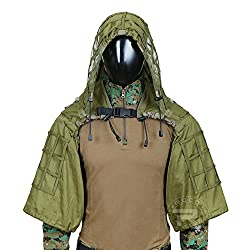 professional Tactical Sniper Suit Ghillie Light Ghillie Suit Foundation Army Green