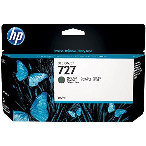 HP 727 Mattschwarz Designjet Tintenpatrone, 300ml