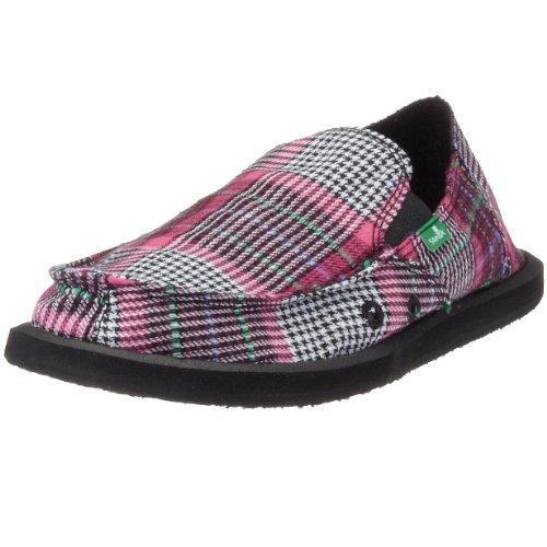 Sanuk Lil Del Mar 128121, Unisex - Kinder Sandalen/Outdoor-Sandalen, pink, (pink), EU 32, (US 2)