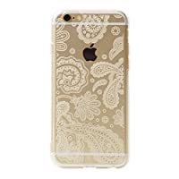 オウルテック iPhone6s/6 4.7インチ ソフトTPUケース ペイズリー柄 クリア OWL-CVIP604PA-CL