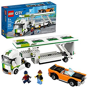 LEGO City Car Transporter 60305 Building Kit  Toy Playset for Kids New 2021  342 Pieces