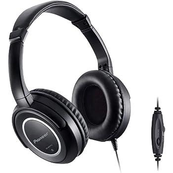 Pioneer SE-M631TV Dynamischer Over-Ear-Kopfhörer (offen, 98dB, 3,5mm Klinke, 5m Kabellänge) für Fernseher schwarz