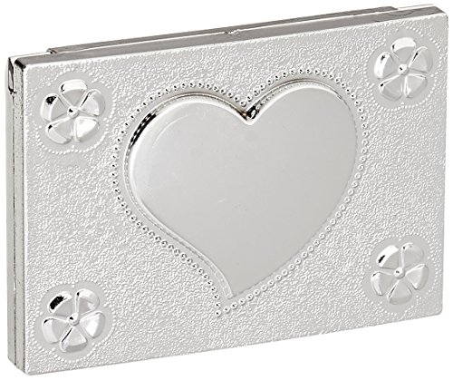 Elegant Reflections Collection Heart Design Mirror Compact Favors, 1