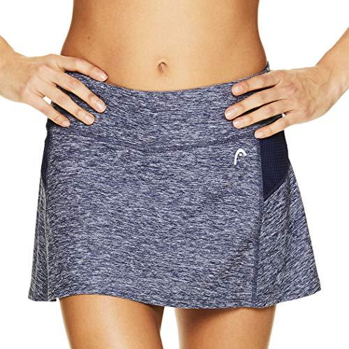 Head Damen-Tennisskort – Leistungs-, Trainings- & Laufrock - Blau - Groß