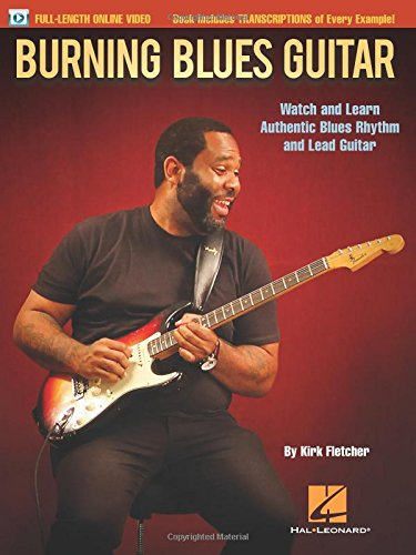 Burning Blues Guitar (Book & Online Audio): Noten, Lehrmaterial, Download (Video) für Gitarre: Watch and Learn Authentic Blues Rhythm and Lead Guitar