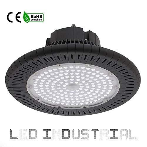 LED Industrieleuchte UFO 150W 125L/W BRIDGELUX K4000-K6000 - LED Hallentiefstrahler 150WATT Industrieanlage, Lagerhalle, Werkshalle (K6000)