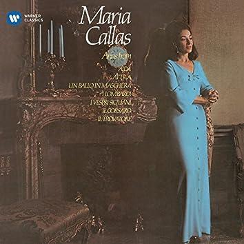 Callas sings Arias fromVerdi Operas - Callas Remastered
