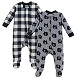 Yoga Sprout Unisex Baby Fleece Sleep and Play, Bear, 3-6 Months