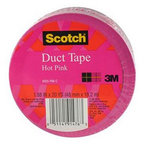 Scotch Duct Tape, Pink, 1.88-Inch by 20-Yard