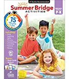Summer Bridge Activities Workbook—PreK-Kindergarten Phonics, Handwriting, Science, Counting, Fitness Summer Learning Activity Book With Flash Cards (160 pgs)