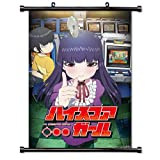 ROUNDMEUP High Score Girl Anime Fabric Wall Scroll Poster (16x23) Inches [A] High Score Girl-1
