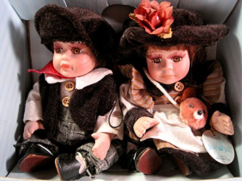 Show-Stoppers, Inc. Porcelain Dolls, Josh & Jodi, 2007,, Special Edition, 7 Inches