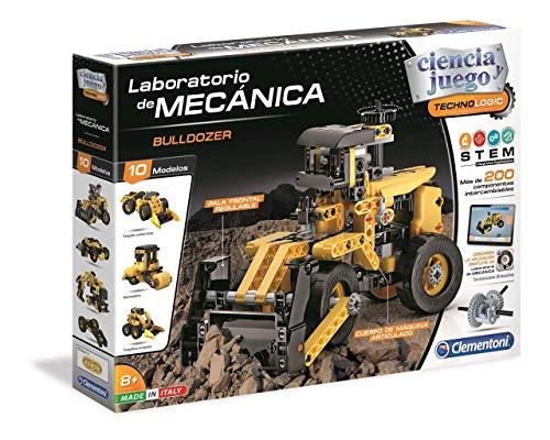 Clementoni Ciencia y Juego- Laboratorio de Mecánica, Excavadora (55347)