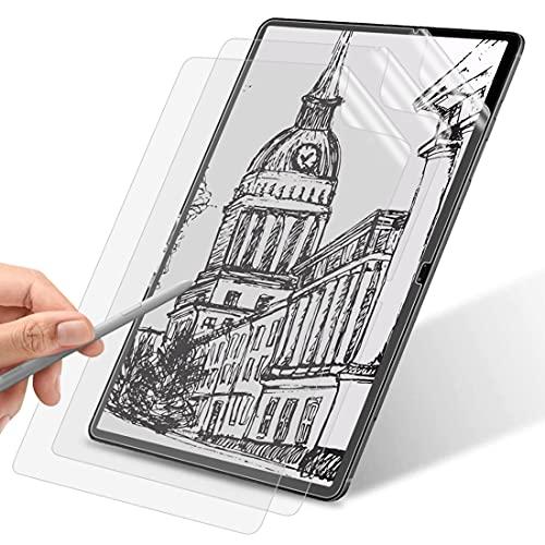 WEOFUN [3 pezzi] Pellicola protettiva per display compatibile con Samsung Galaxy Tab S7+/Samsung Galaxy Tab S7 Plus 12.4 pollici , [antigraffi] [texture opaca] [Scritta a mano senza sfregamento]