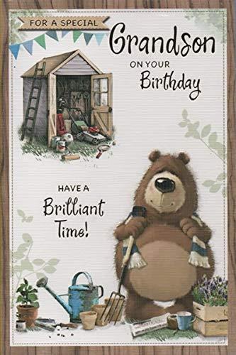 met liefde, schoonzoon - verjaardagskaart