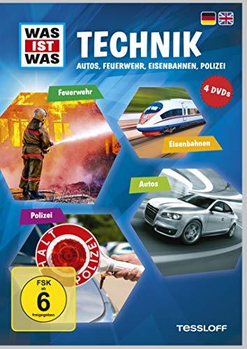 Was Ist Was DVD Technik. Autos, Feuerwehr, Eisenbahnen, Polizei